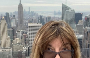 The Southern View from Top Of The Rock, February 2020