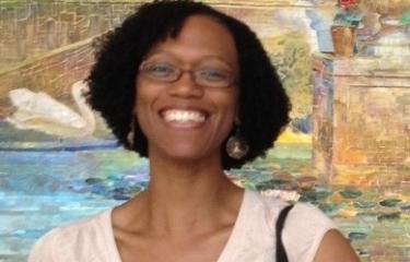 photo of Akilah at the Metropolitan Museum of Art