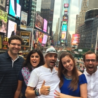 Olidaytours in Action - lots of fun on a walking, biking or sightrunning tour through NYC